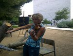 The 4th Monday Art Garden with the Violinist Edua Zadory in Abu Dis Campus
